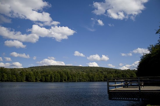 Livingston Manor, Nova York: Mongaup Pond Facing East