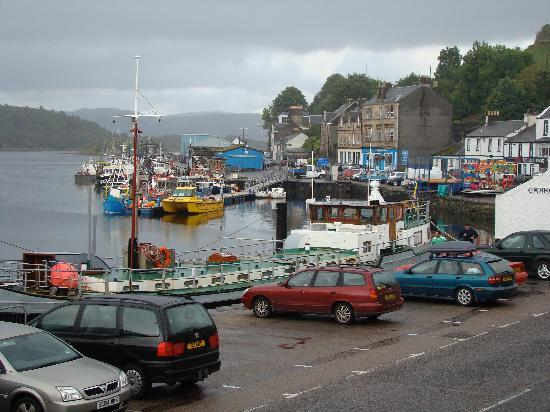 The Tarbert Hotel: View from Hotel