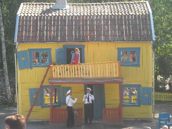 Vimmerby, السويد: Villa Villacolle: la casa di Pippi Calzelunghe