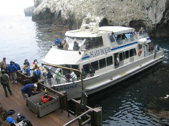 Channel Islands National Marine Sanctuary: Island Packers Tour Boat