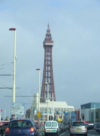 The Blackpool Tower ภาพถ่าย