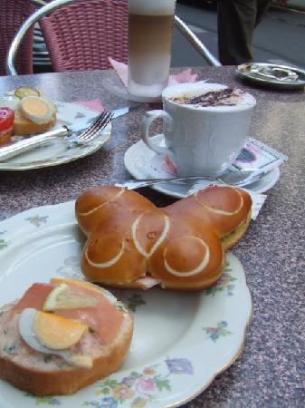 Zurych, Szwajcaria: cafe