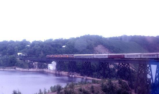 Sault Ste. Marie, Kanada: Trestle over the Montreal River