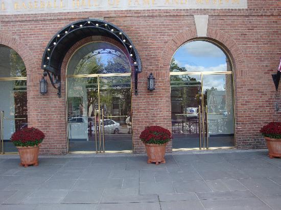 National Baseball Hall of Fame and Museum: Main Entrance