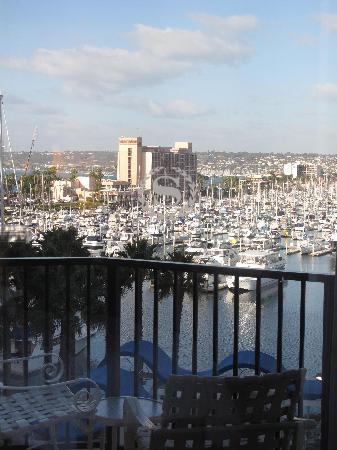 Sheraton San Diego Hotel & Marina: view from our room