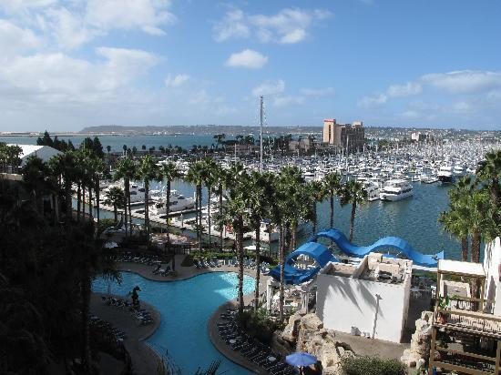 Sheraton San Diego Hotel & Marina: another view from room
