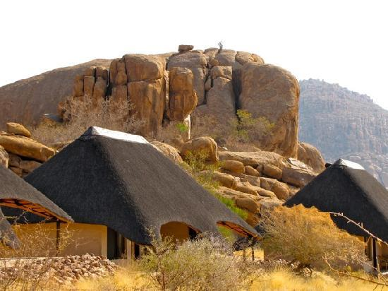 Omaruru, Namibia: two rooms form one bungalow