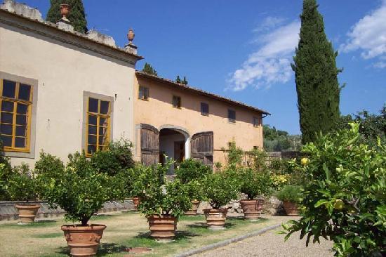 Villa Gamberaia: the limmonaia