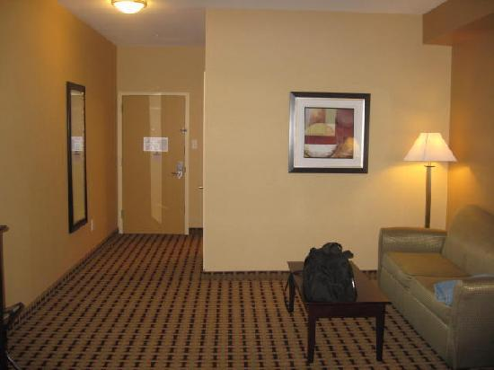 Clarion Inn & Suites Atlantic City North: Plenty of space