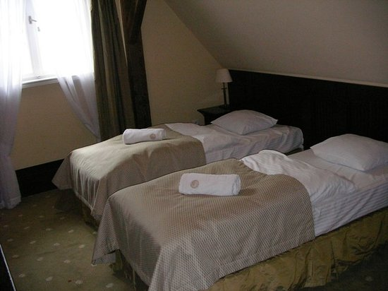Hotel Brovaria: the twin room