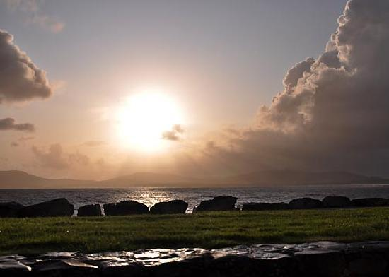 Sunset along The Ring of Kerry
