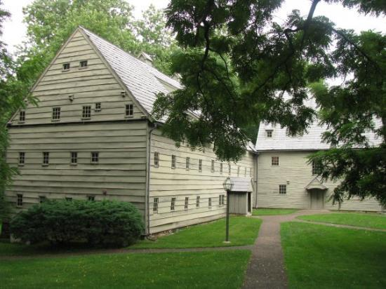 "Ephrata, PA: Saron, the Sisters' House, was constructed in 1743 for  the celibate Sisterhood (""The Roses of S"