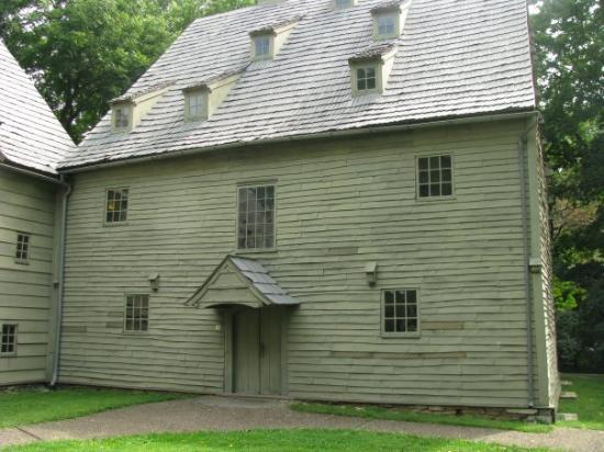Ephrata, PA: The Saal ( Meetinghouse), is a Fachwerk or half-timbered building constructed in 1741 as a worsh