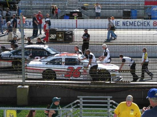 On The Track At Indianapolis Motor Speedway Picture Of