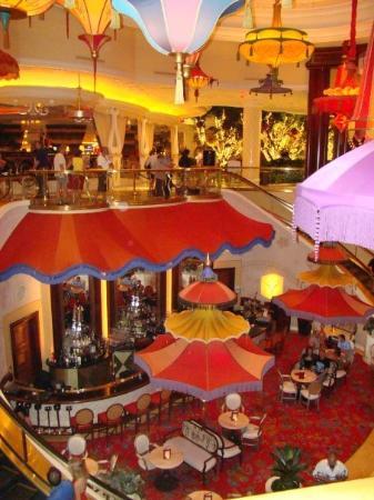 Parasol Down Picture Of Parasol Up Parasol Down At Wynn Las Vegas