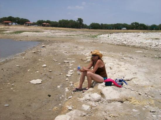 Comal Park : My mommy at comal Prk in Canyon lake.