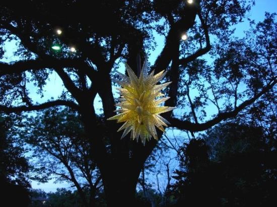 คอรัลเกเบิลส์, ฟลอริด้า: Chihuly blown glass sculpture-special 2007 exhibit at  Fairchild Tropical Botanical Gardens Cor
