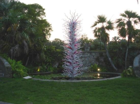 Coral Gables, FL: Chihuly blown glass sculpture-special 2007 exhibit at  Fairchild Tropical Botanical Gardens