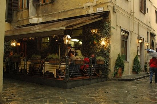 Il Caminetto Ristorante : Restaurant Caminettojust off the Piazza del Duomo in the heart of FlorenceTerrific food