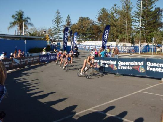 Southport, Austrália: Elite Womens bike