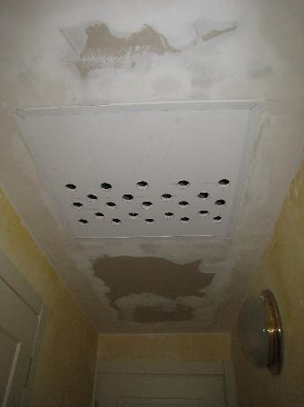 holes in the ceiling