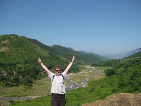 Lai Chau, เวียดนาม: me in the hills of Muoung Lai
