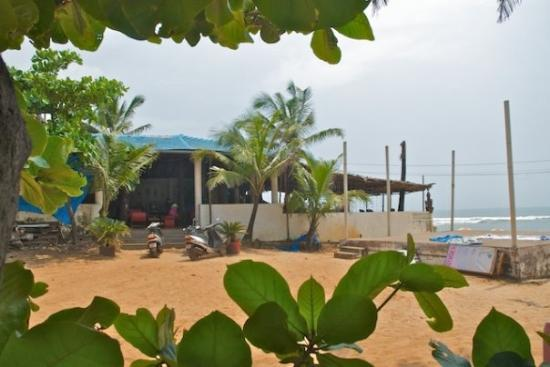 cool beach shack..... from my fave one in Baga....