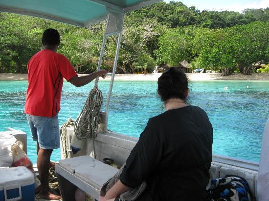 Qamea Resort And Spa Fiji: Arriving