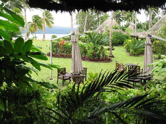 Qamea Resort And Spa Fiji: view from bar/restaurant