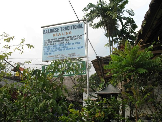Traditional Balinese Healing Center