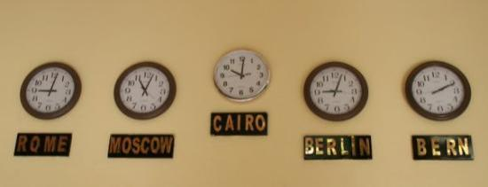Ali Baba Palace: They all live their own lives... according to the OWN time! Egyptians probably don't know that