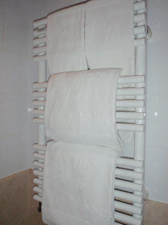 Hotel de l'Abbaye Saint-Germain: Hotel towels