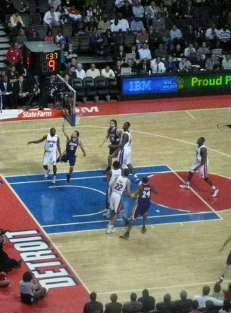 Palace, Auburn Hills - Pistons vs Lakers 26th March'09