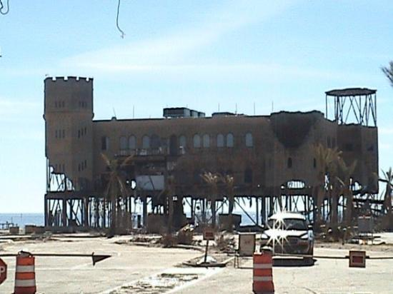 Another Offshore Casino Destroyed Picture Of Biloxi Mississippi