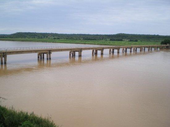 Malanville, Benin: Le fleuve le Niger