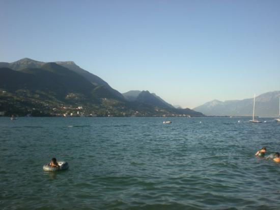 Alto Garda Bresciano: Udsigten ved søen.