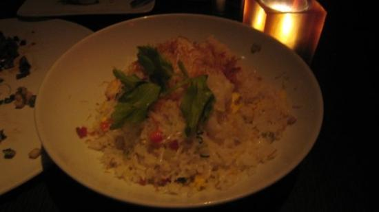 Lobster fried rice  @ Buddakan - too much rice, not enough lobster
