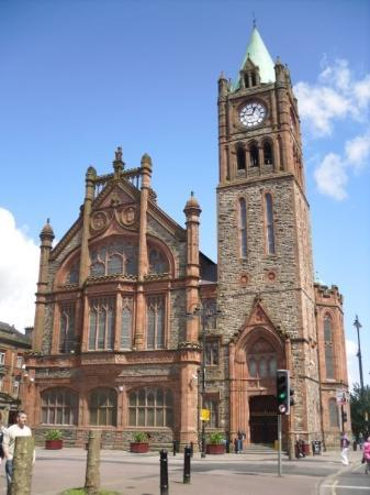 ‪‪Derry‬, UK: Guild Hall‬