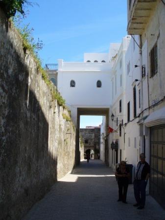 Tangier Casbah: Inside the Casbah.