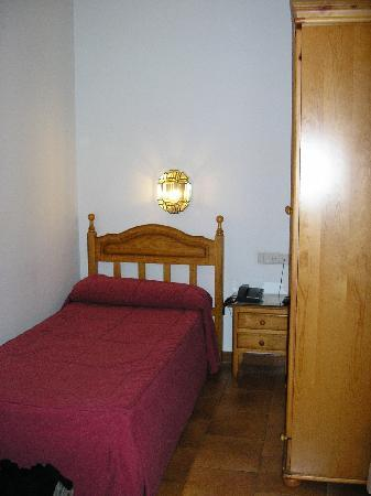 Hotel Los Patios : Vue chambre single