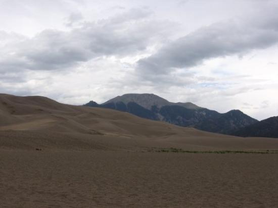 Mesa (Pueblo County), Kolorado: Mesa  Pueblo County, CO, United States,Great Sand Dunes.