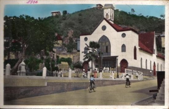 Bahia de Caraquez, เอกวาดอร์: The Church I was Baptize in. Iglesia de la Merced 1966