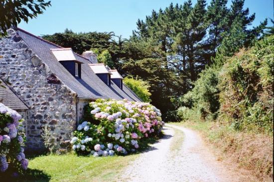 Quimper, France : sentier Cap de la Chèvre