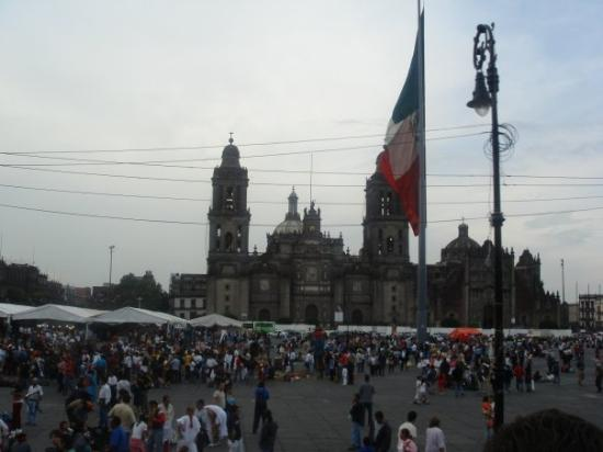 Mexico City, Mexico: ZOCALO, MEXICO DF