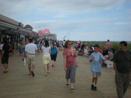 Dewey Beach, DE: Rehoboth Beach boardwalk