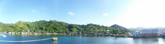 West Bay, ฮอนดูรัส: A panoramic view of Honduras.