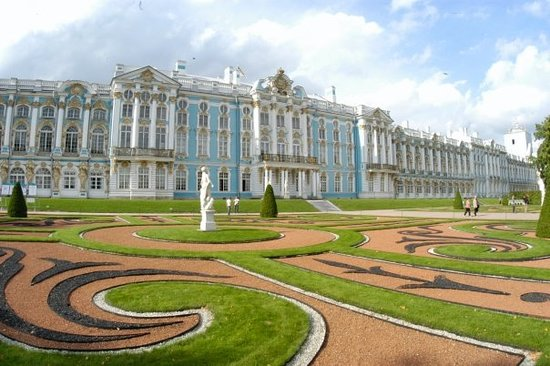Pushkin, Rusland: Catherine the Greats Summer Palace