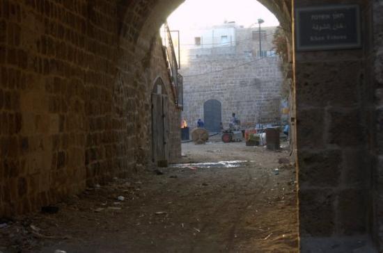 Acre, Israël : Arab quarter