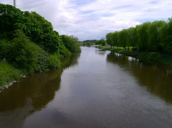 Portadown, UK: Bann river again