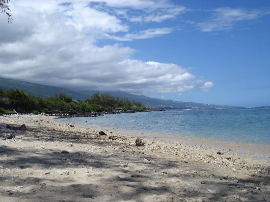 Saint-Gilles-Les-Bains, Reunion: La plage vers St Gilles les Bains